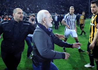 PAOK owner wanted by Greek police and all games suspended