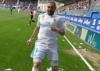 Karim Benzema: 44 goals less than Higuain since he left