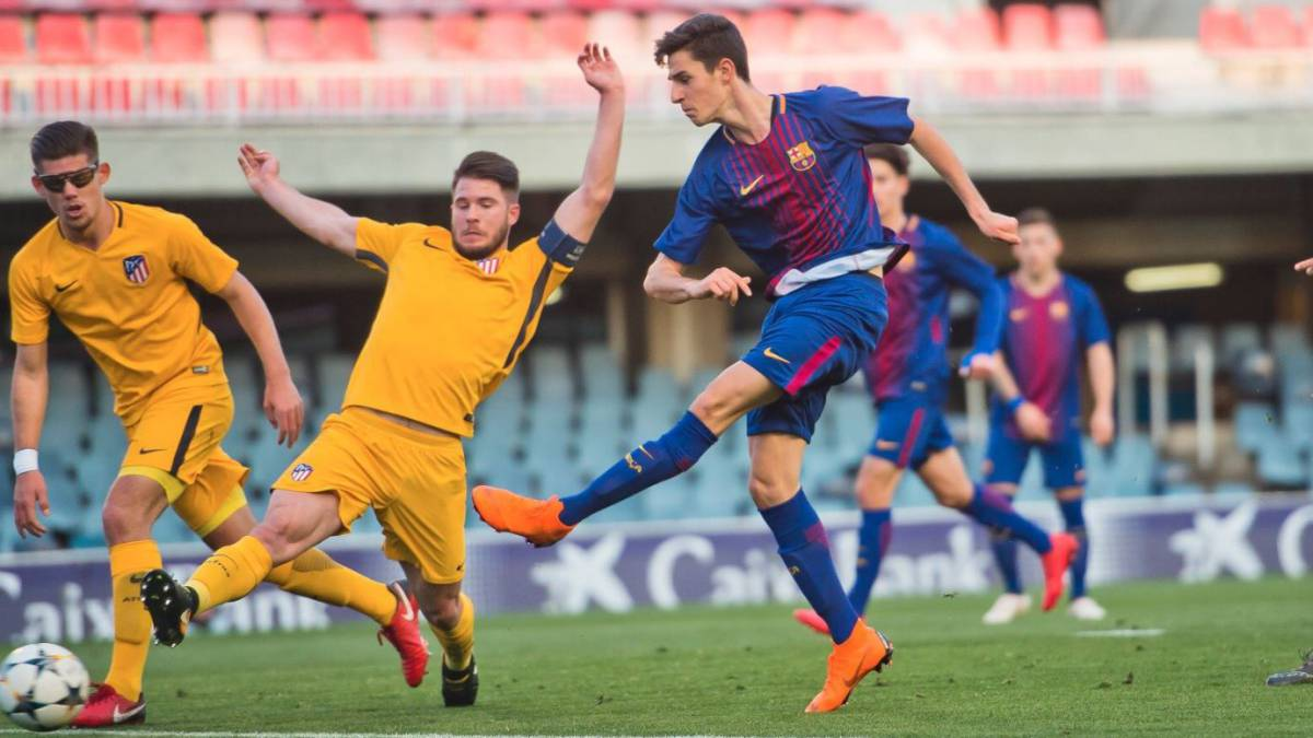 Barcelona - Atlético en directo: Youth League, cuartos de final