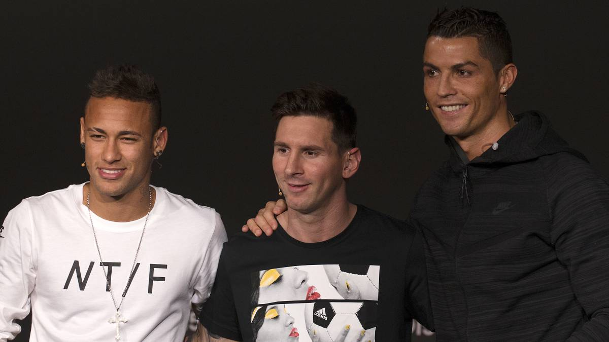 Ronaldo, Neymar, Messi... Ballon d'Or top 25's boot sponsors