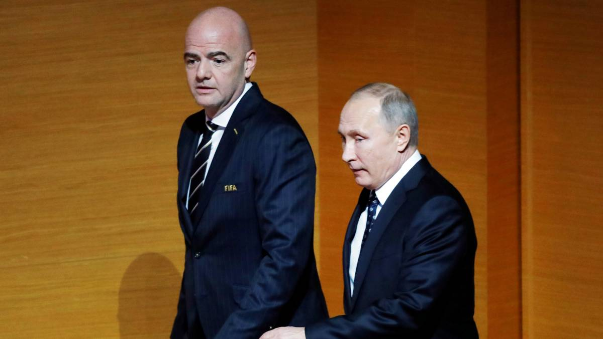 Fifa in state of panic over calls to boycott Russia World Cup