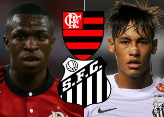 Neymar vs Vinicius comparisons: the early years