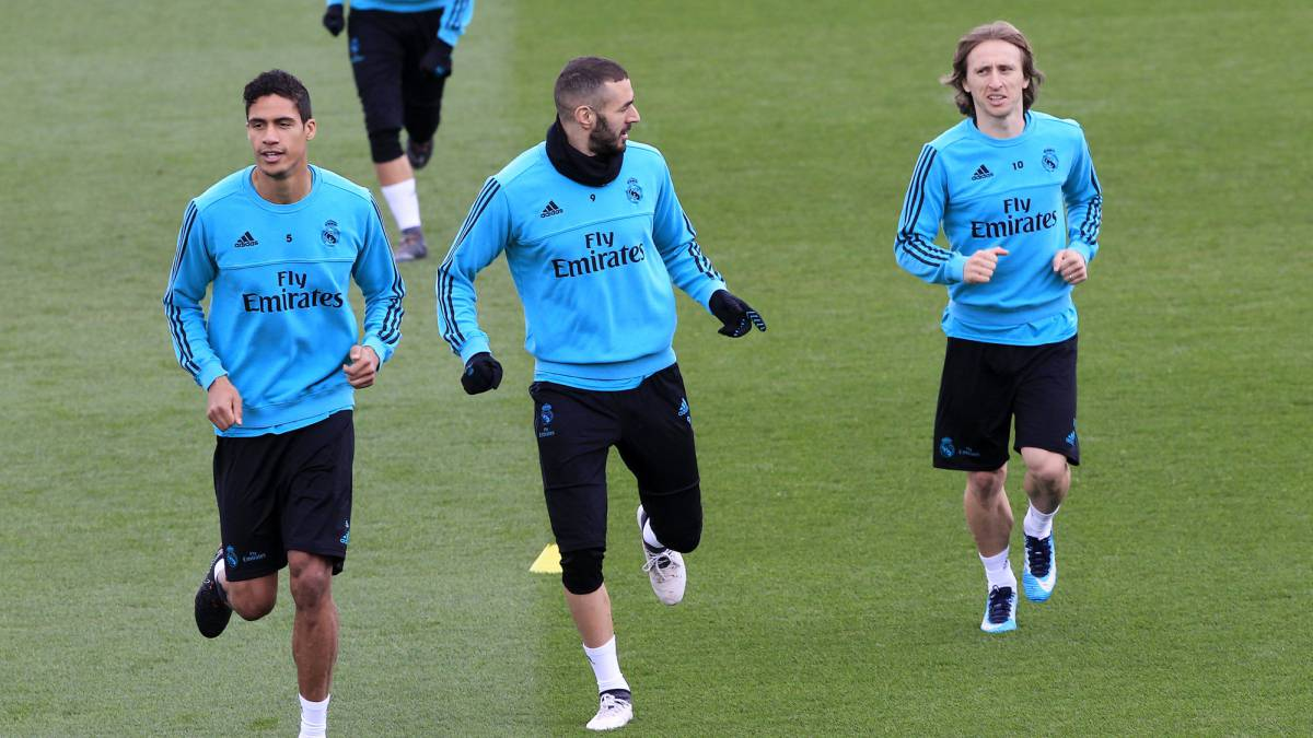 Bale and Modric back training; Madrid at full strength for Girona