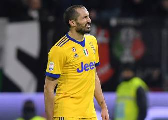 Juventus' Chiellini out for Italy and can prepare for Madrid