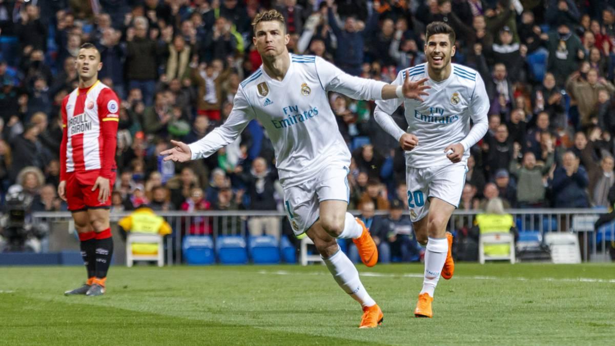 Real madrid 6 3 girona resumen resultado y goles del for Resultado partido real madrid hoy