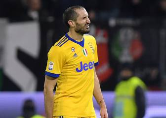 Juventus sweating on Chiellini ahead of Real Madrid clash