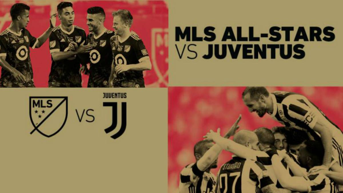 La Juventus sucede al Madrid: jugará el MLS All-Star Game 2018.