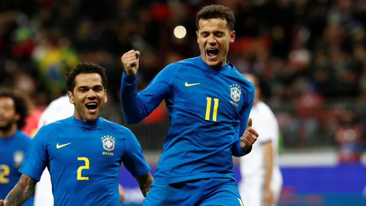 d6dca4ed9 Rusia 0-3 Brasil: goles, resumen y resultado - AS.com