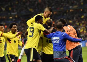 Quintero stuns France as Colombia hit back to win 3-2