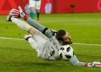 De Gea, Reina and Ter Stegen slam World Cup ball