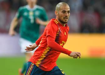 David Silva leaves Spain camp for
