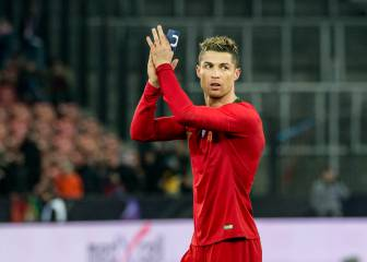 Cristiano amongst the national team goal scoring elite