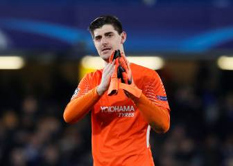 Courtois accepts he won't be a Real Madrid player next season