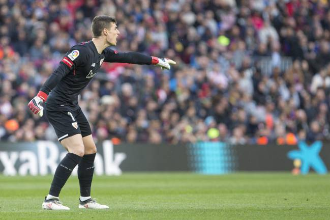 Kepa Arrizabalaga, portero del Athletic.