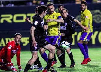 Empate que deja al Huesca líder y al Cádiz cuarto