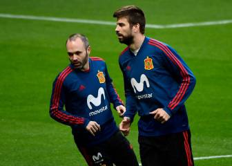 Piqué whistled at the Wanda