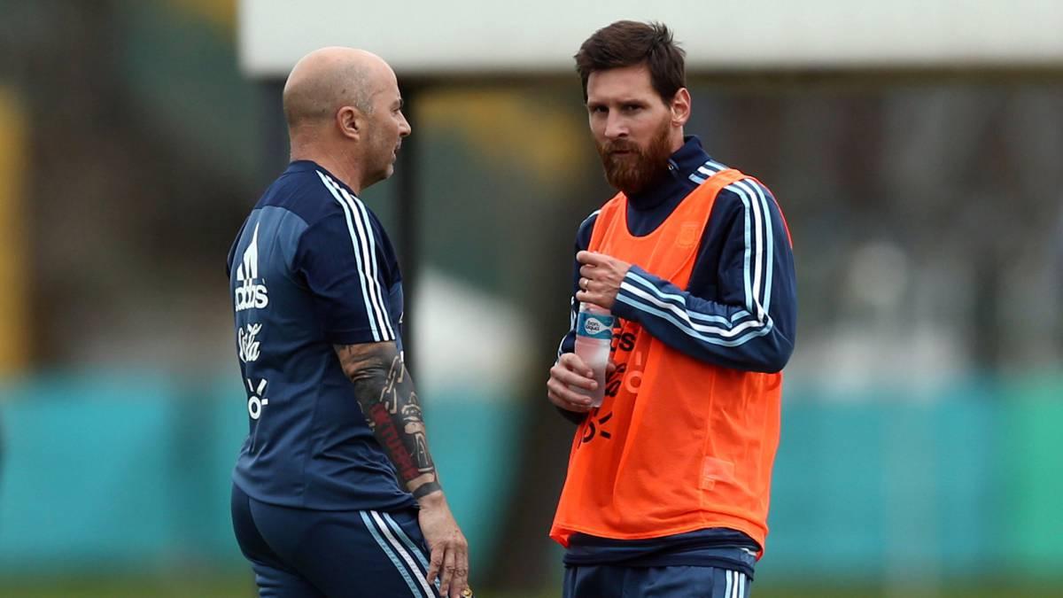 Lionel Messi misses out against Spain