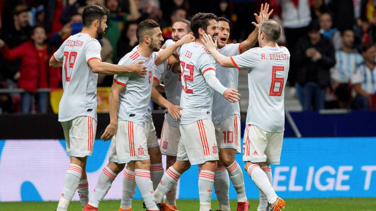 España 6-1 Argentina  resumen e7b4a1cfc271e
