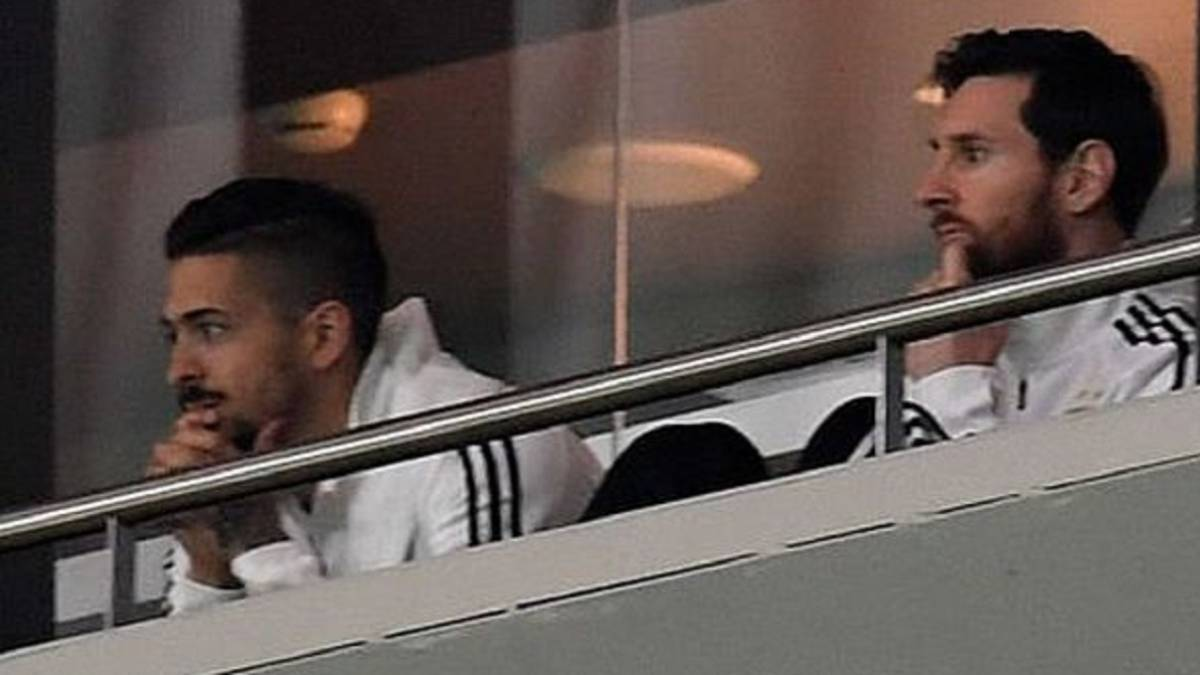 Messi Seperti tak Tega