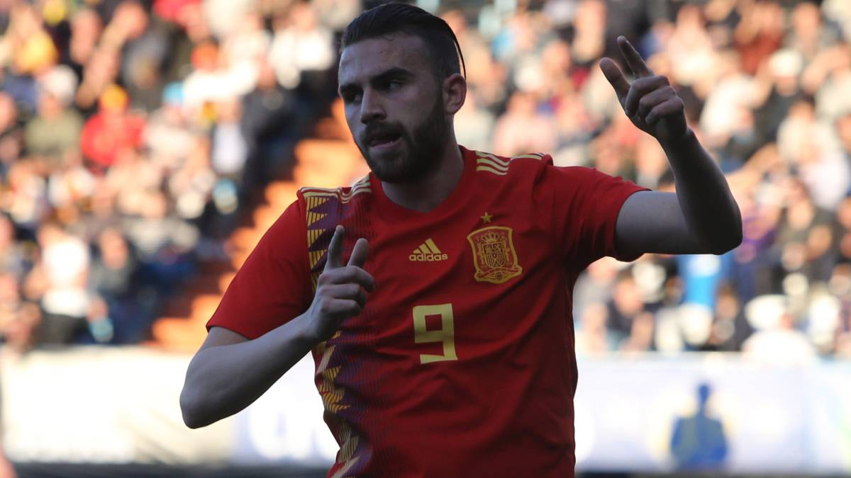 Borja Mayoral chuffed after beating Raúl's under-21 record