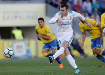 Bale and Benzema put a spring in Madrid's step in Las Palmas