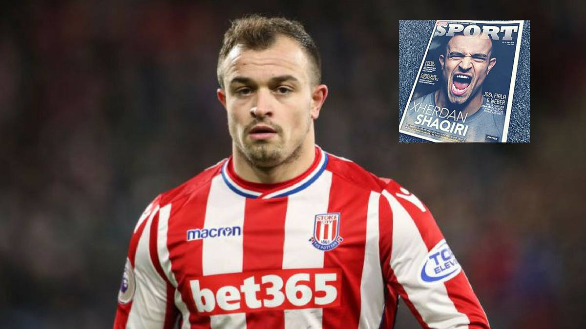 "Shaqiri: ""Even Ronaldinho couldn't do much in this Stoke side..."""