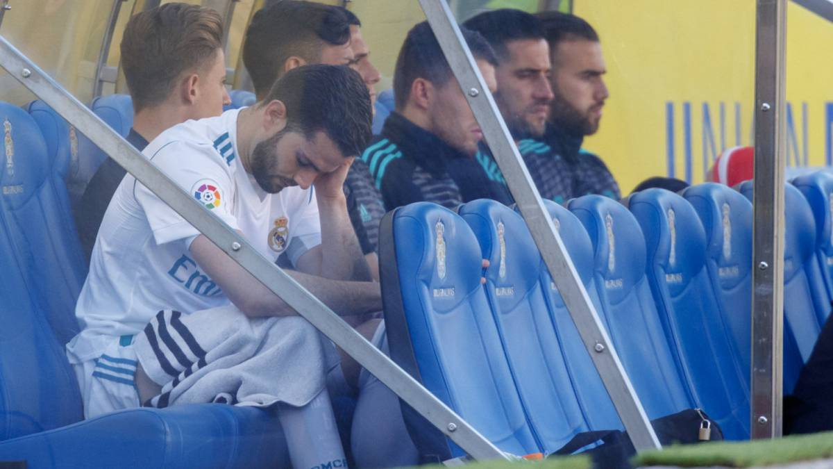 Nacho: Real Madrid defender subbed off for first time in career