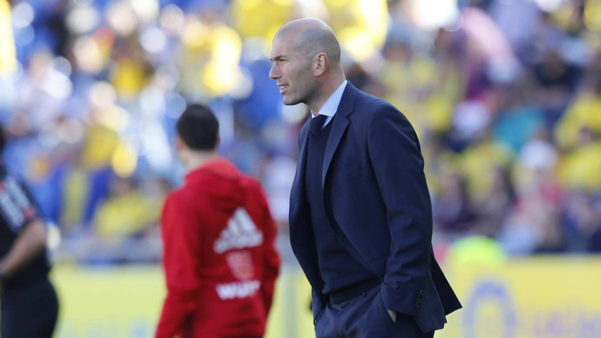 "Zidane: ""Bale's performance? I'm happy for him, and that's it..."""