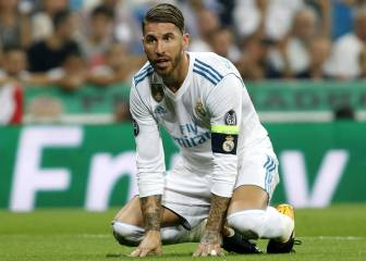 Sergio Ramos on thin ice against Juventus