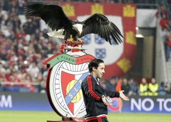 Benfica eagle mascot escapes, returns 24 hours later
