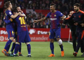 Barça's title charge based on nine comebacks in LaLiga