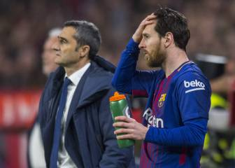 Messi had two instructions before his 35-minute cameo at Sevilla