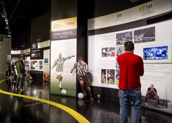 Zidane has a special place in Juventus stadium's museum