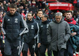 Like father, like son: Mourinho Jr joins José on United bench