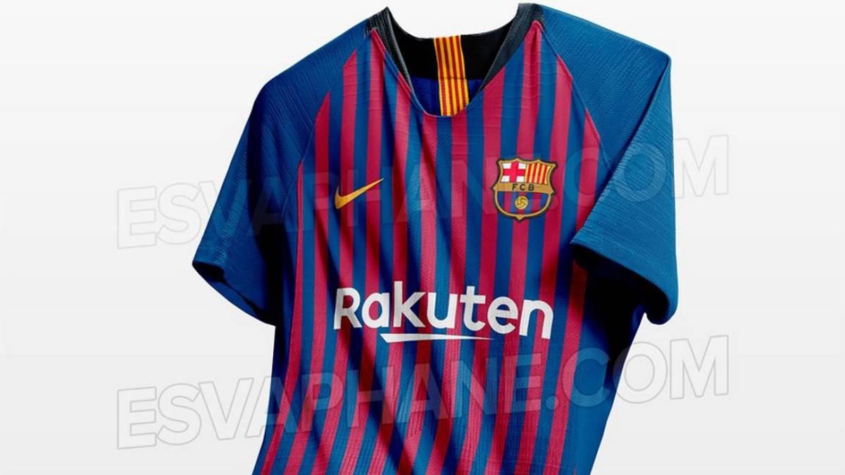 Nuevas Fotos De La Posible Camiseta Del Barcelona 2018/19