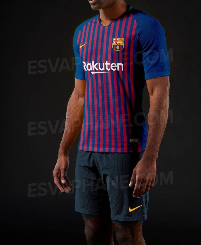 10621e8319db3 Nuevas fotos de la posible camiseta del Barcelona 2018 19 - AS.com