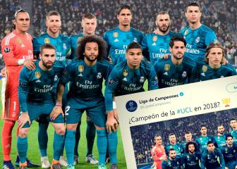 Uefa accused of favouritism after Champions League Twitter posts