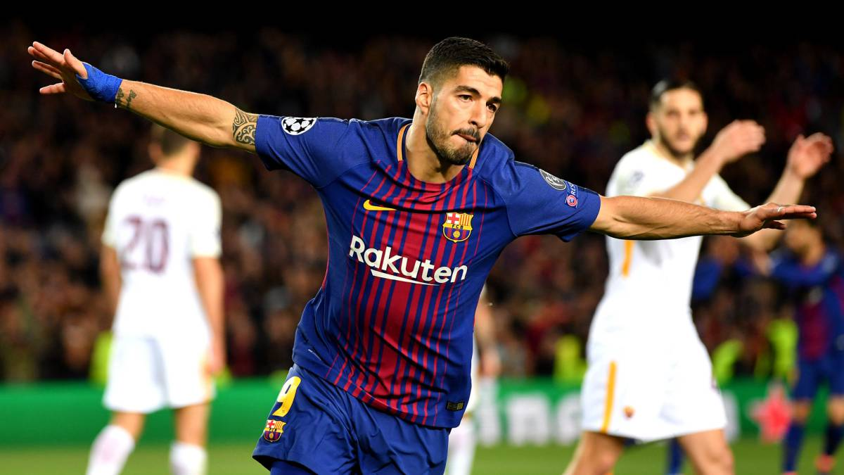 Luis Suárez ends dry spell as Barcelona beat Roma