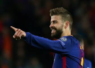 Piqué doesn't mention the treble: