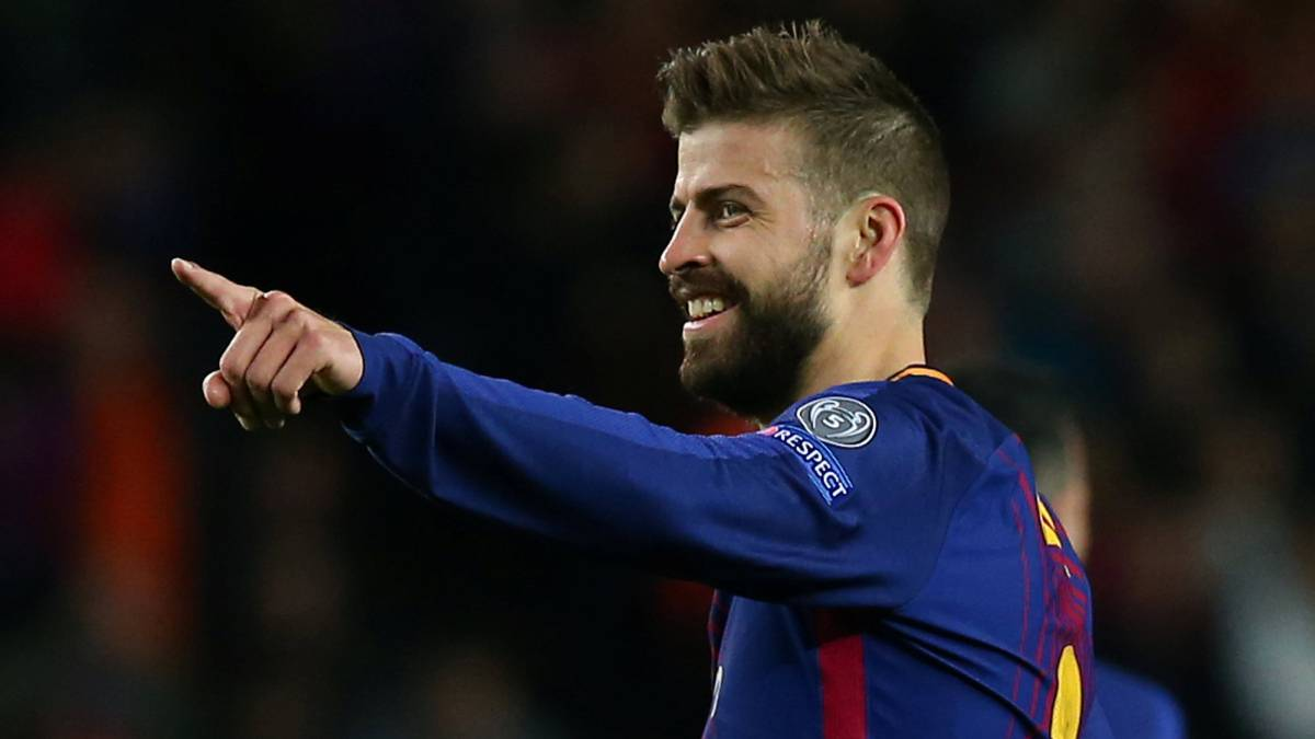 "Piqué doesn't mention the treble: ""The season is going well"""