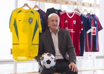 "Scolari: ""Sería un honor poder entrenar al Athletic"""