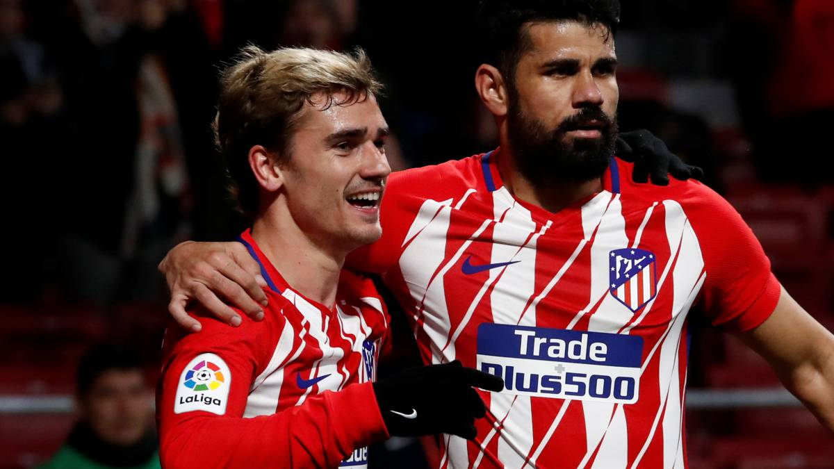 Diego Costa's presence pushes Griezmann on to another level