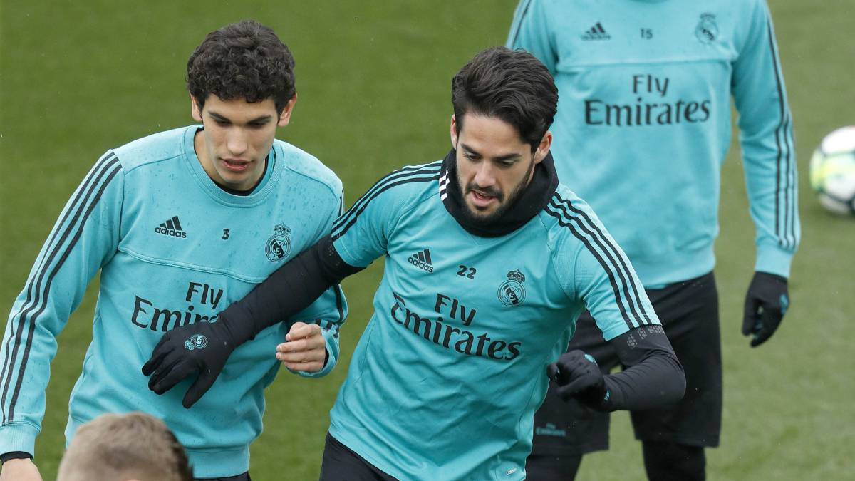 Real Madrid: Vallejo out of derby, Zidane has problems for Juve