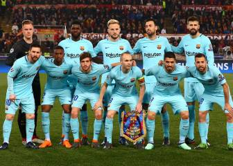 Barça player ratings: Messi fails to turn up in Roma debacle