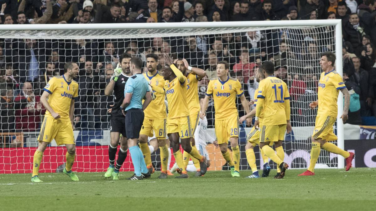 "Buffon: ""The referee has a rubbish bin where his heart should be"""