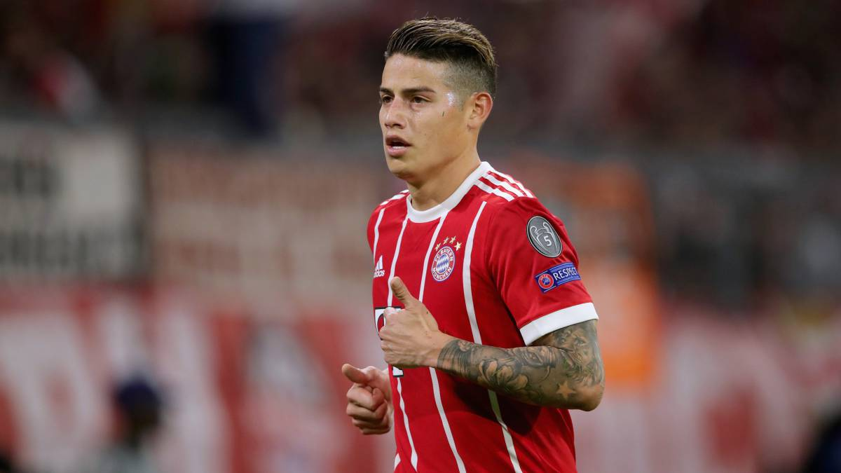 "Real Madrid - Bayern: No ""fear clause"" for James"