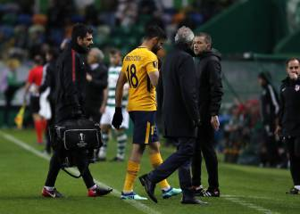 Injured Diego Costa could miss Arsenal Europa League tie