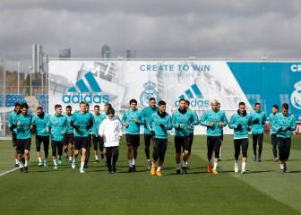 Modric not training for Real Madrid and a doubt for Málaga