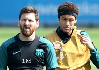 Neymar reveals how Messi put him at ease at Barcelona