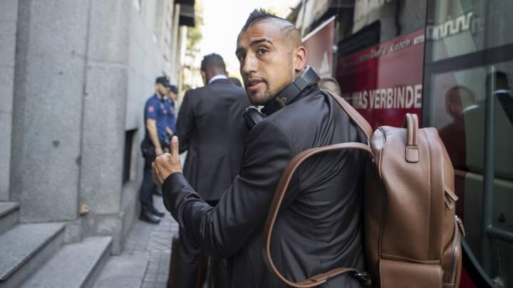 Vidal pasará por quirófano y está casi descartado ante el Madrid